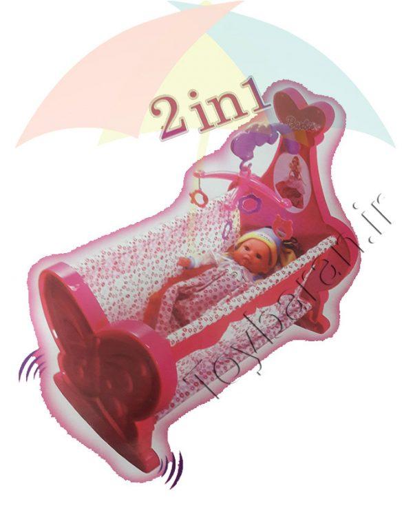 گهواره و تخت عروسک |