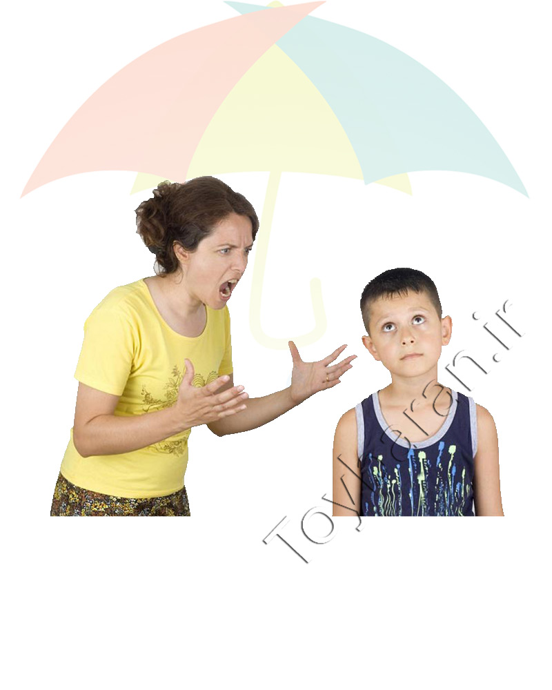 داد زدن سر فرزندان