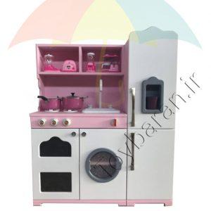 آشپزخانه چوبی خانه کودک