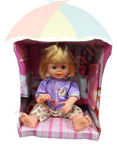 عروسک مسواک زن
