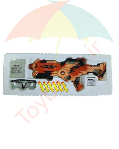 تفنگ تیر ژله ای و ابری