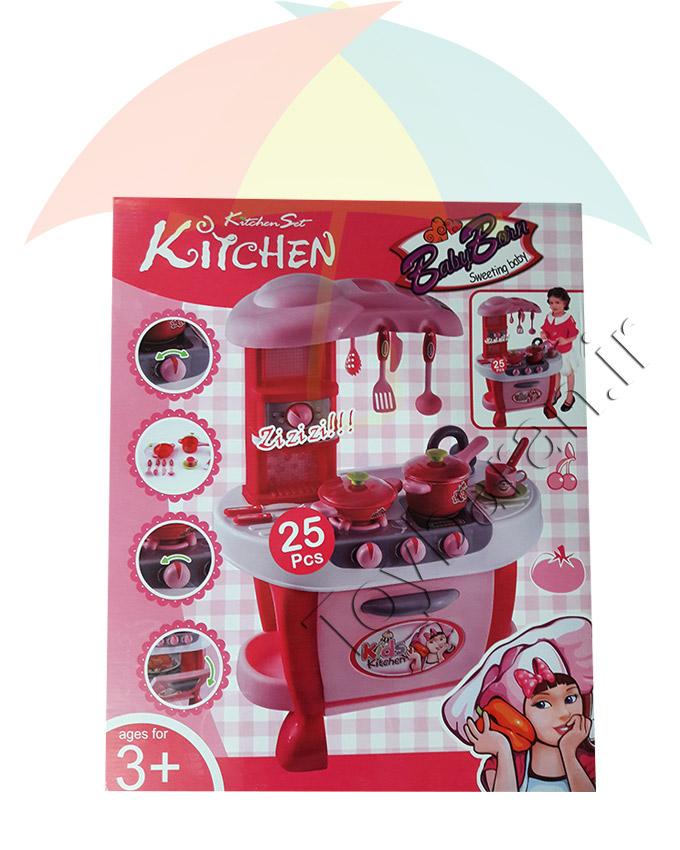 ست آشپزخانه کودک پایه دار