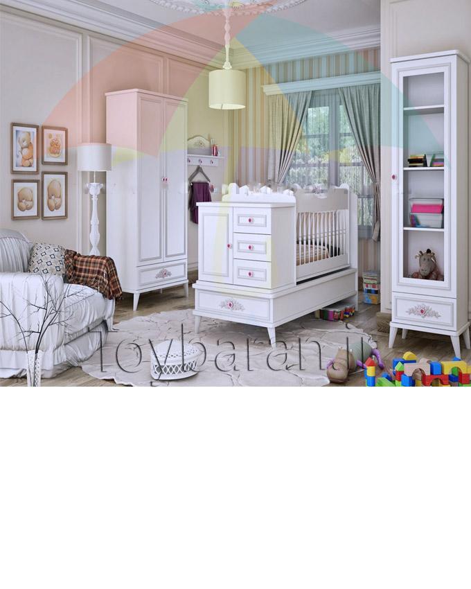 سرویس تخت وکمد نوزاد