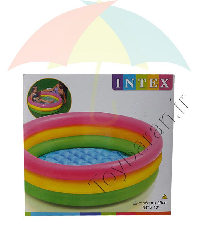 استخر دایره ای رنگی ۸۶ اینتکس