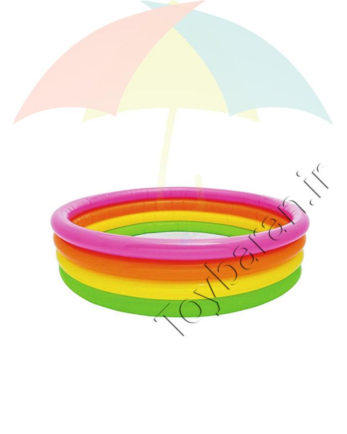 استخر دایره ای ۱۶۸ رنگی اینتکس