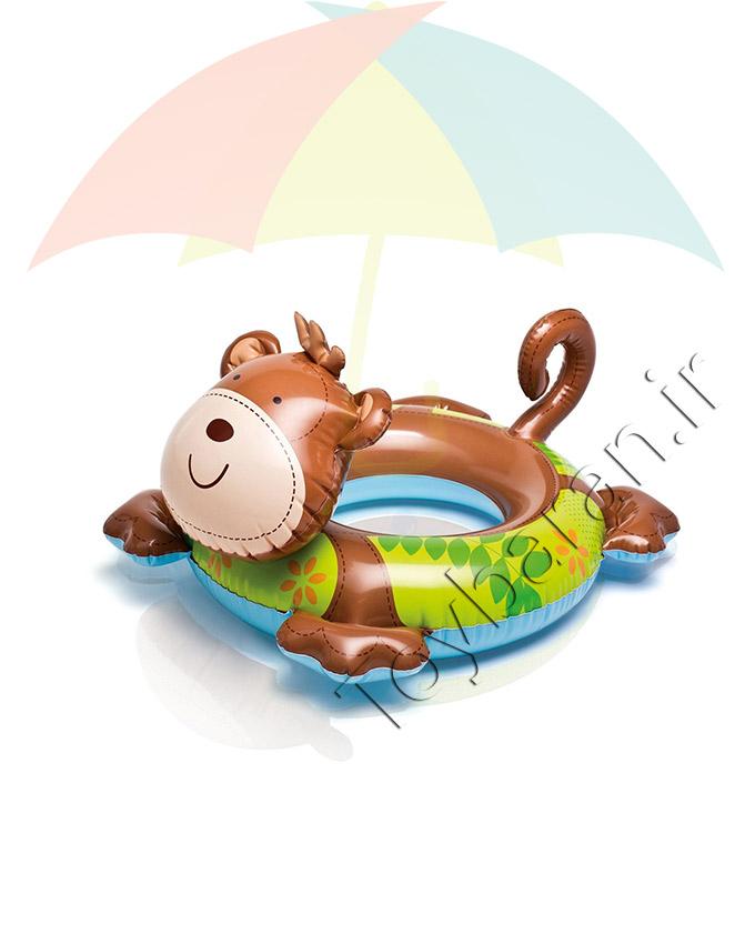 حلقه شنا بادی کودک طرح میمون