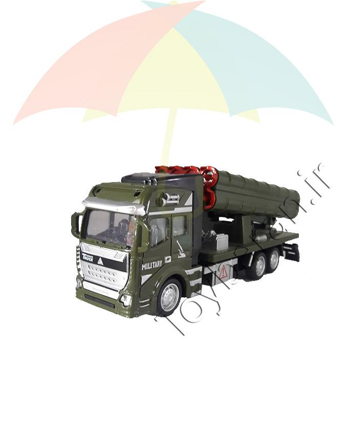 کامیون ارتشی فلزی
