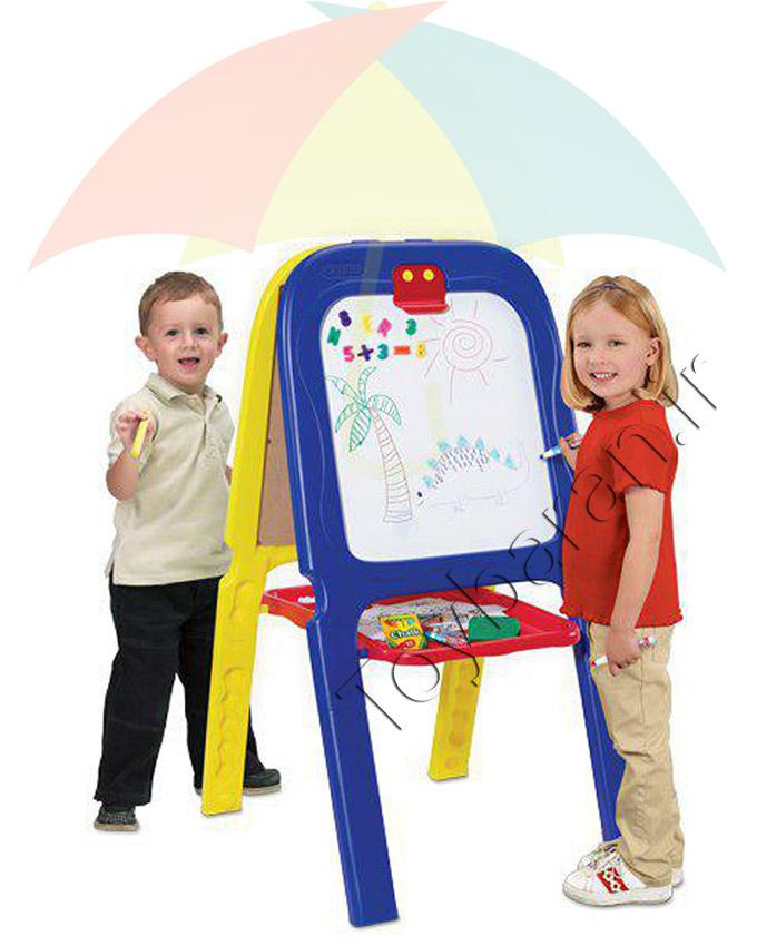 تخته نقاشی دو طرفه کودک