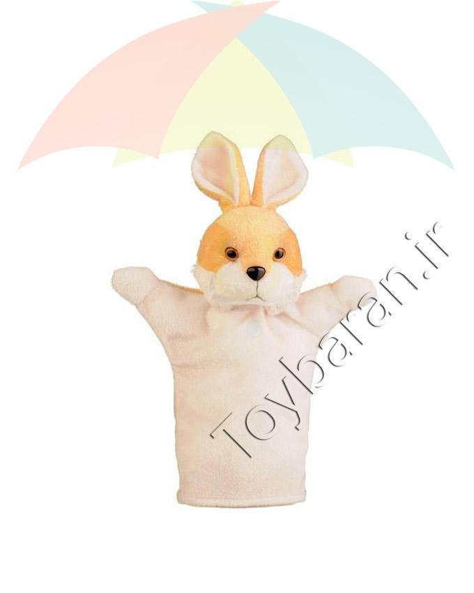 عروسک دستی خرگوش