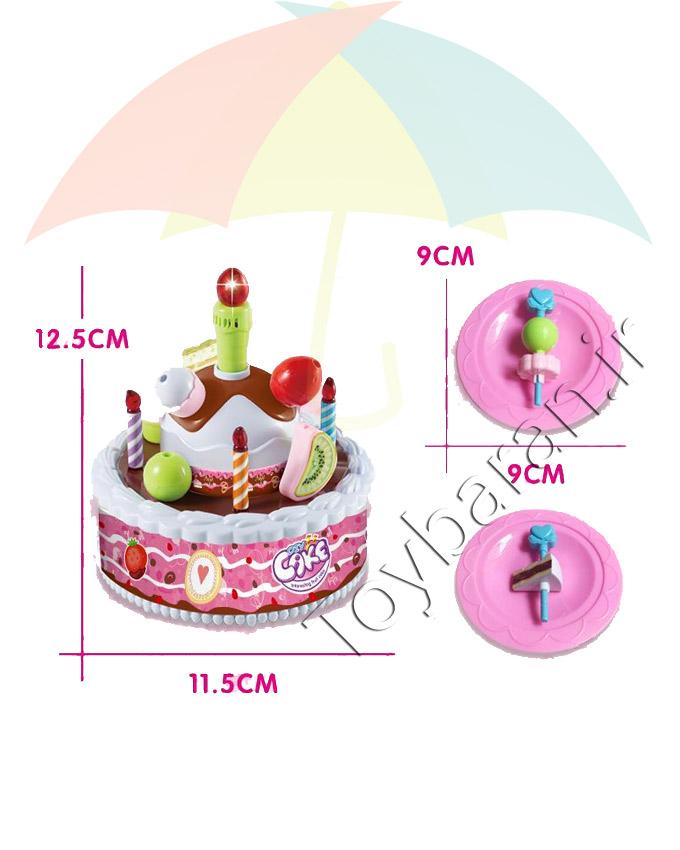 کیک تولد موزیکال
