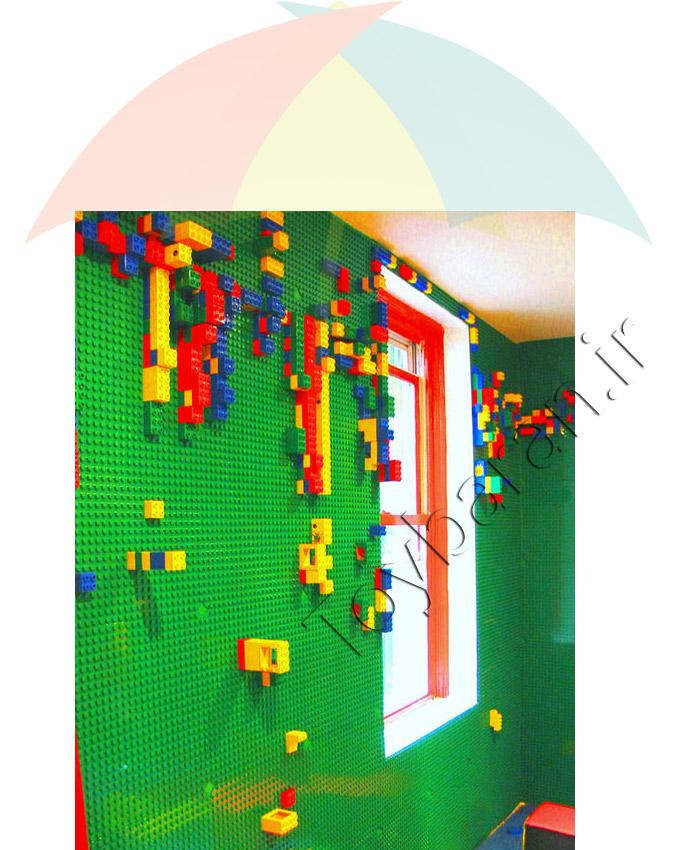 صفحه لگو دیواری