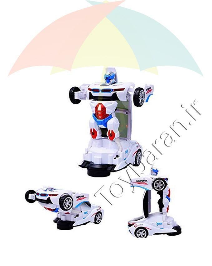 ماشین رباتی تبدیل شو