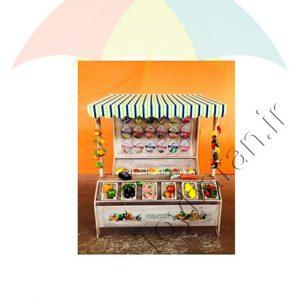 دکه میوه فروشی کودکان