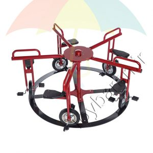 چرخ و فلک فلزی خانه بازی