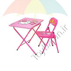 میز و صندلی کودک تاشو