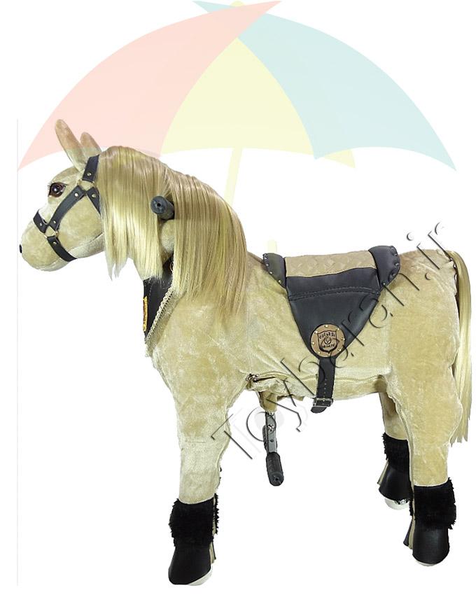 اسب رکابدار سانی بلوند
