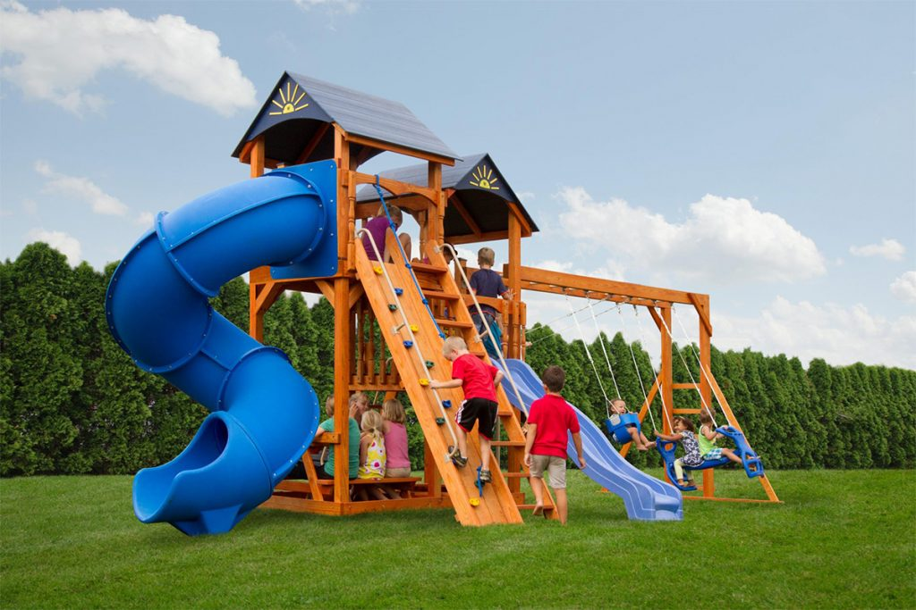 قیمت وسایل بازی پارکی کودکان تهران