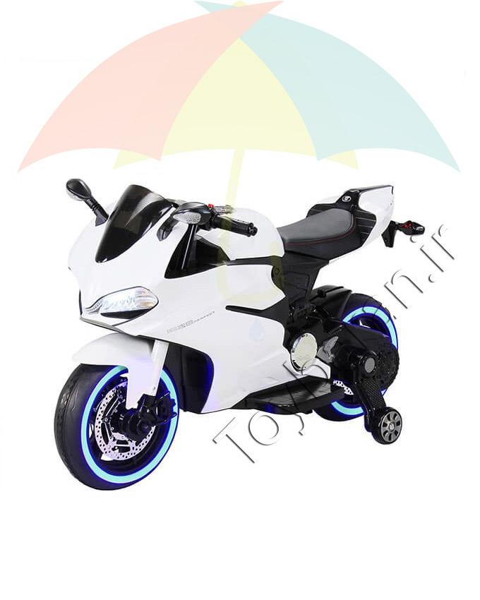 موتور شارژی مسابقه ای دوکاتی