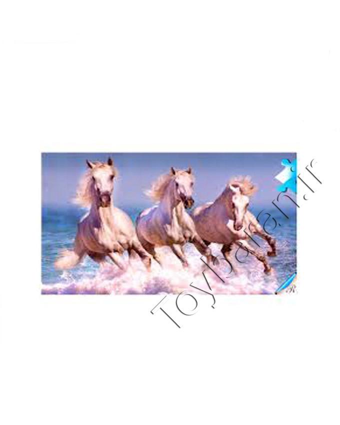 پازل هزار تکه طرح اسب