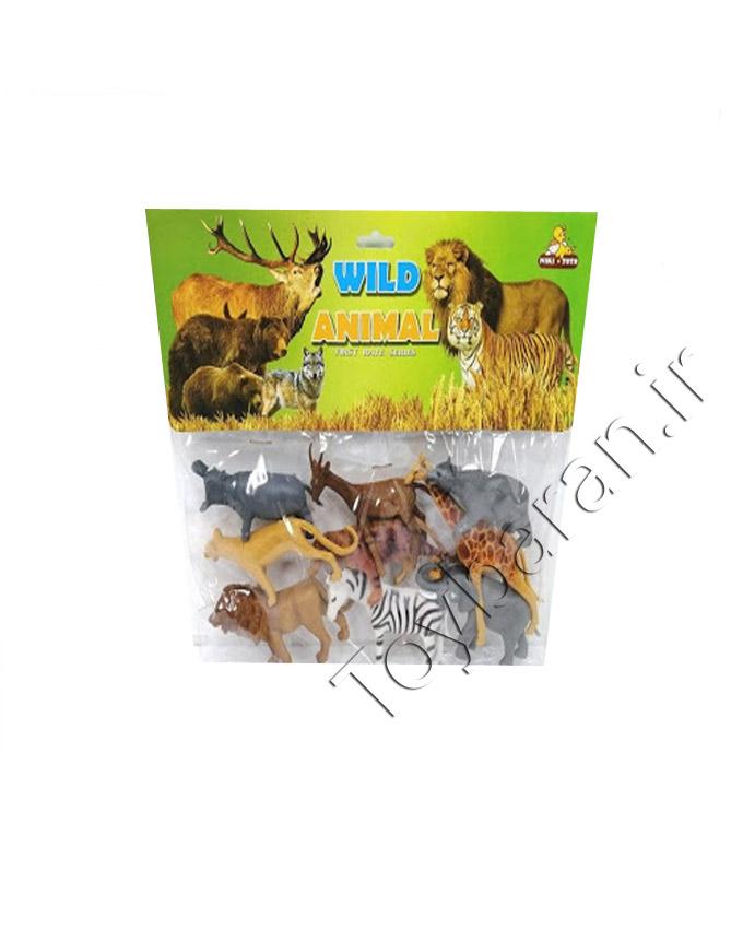 باغ وحش بسته ای حیوانات جنگل