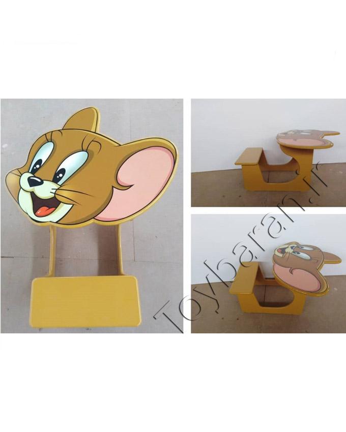 میز تحریر طرح حیوانات