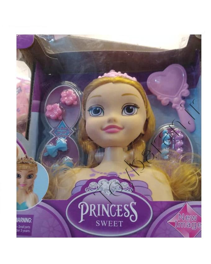 عروسک نیم تنه آرایشی پرنسس
