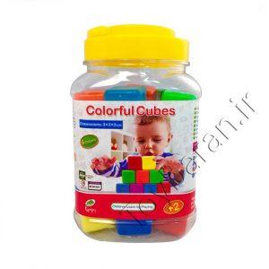 مکعب های رنگی